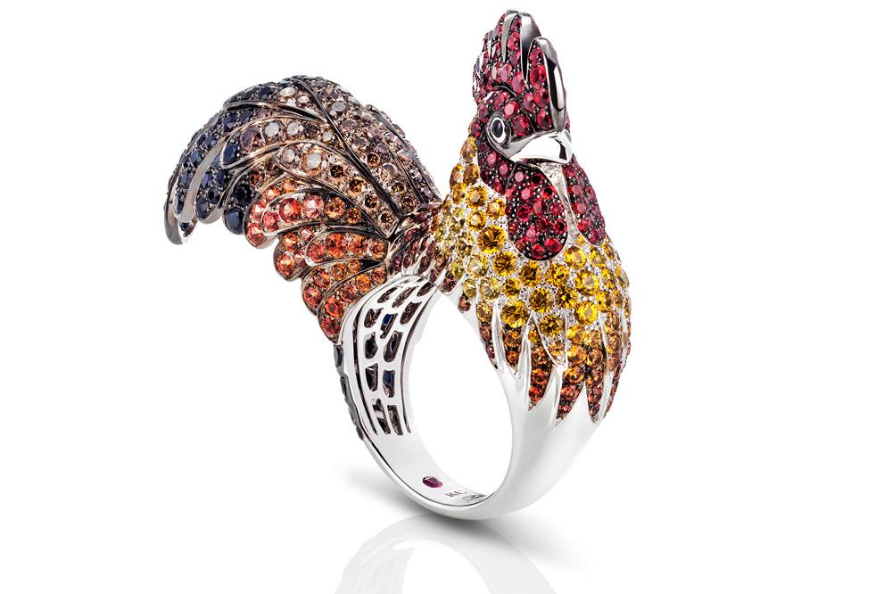 """Roberto Coin """"Gallo Animalier"""" ring"""